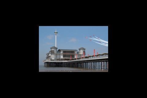 Weston-Super-Mare's new pier